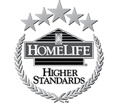 HomeLife Higher Standards real estate logo